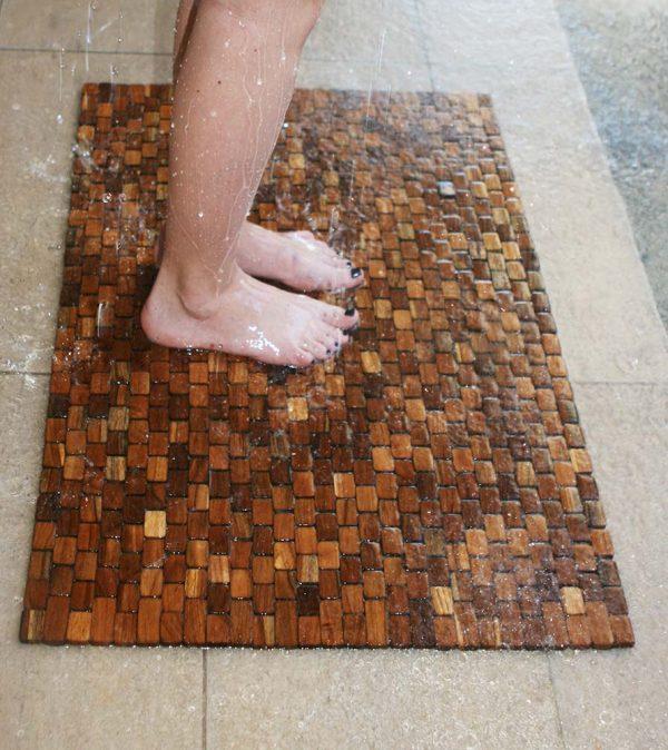 Large Teak Floor Mat-IPM002FMTK