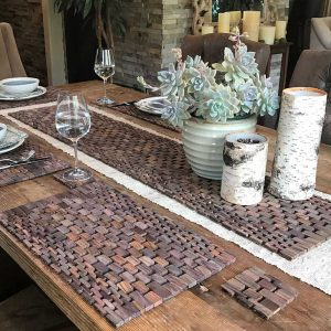 Rosewood Table Set IPM082