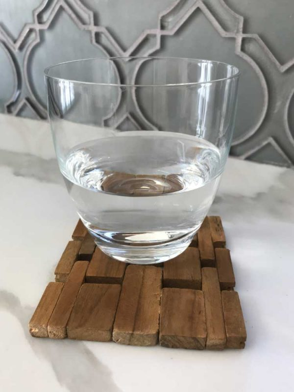 Teak Coasters (set of four) IPM082