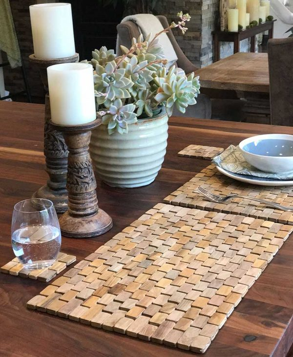 Teak Placemats (set of two) IPM002