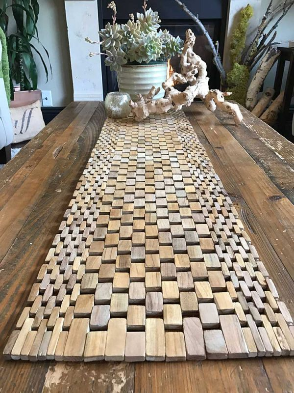 Teak Table Runner